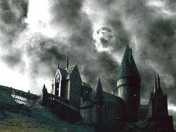 Marca Negra sobre Hogwarts