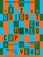 MinaLima Store - The 422nd Quidditch World Cup (Grid) - Poster