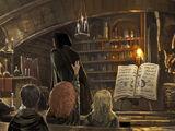 魔药课教室
