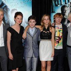На премьере фильма <i>Гарри Поттер и Принц-полукровка</i>. <a href=
