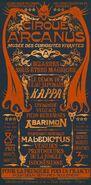 Circus Arcanus Show Poster - Kappa