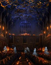 Halloween Great Hall