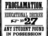 Educational Decree Number Twenty-Seven