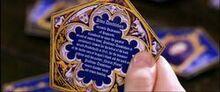 Albus Dumbledore Famous Wizard Card