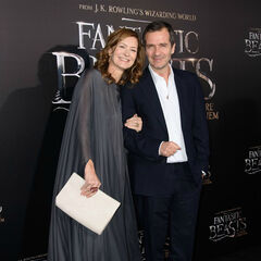 Дэвид Хейман с супругой
