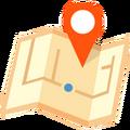 Luoghi mappa icona