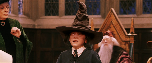 File:Ron And The Sorting Hat.png