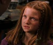 Ginny stands up for Harry