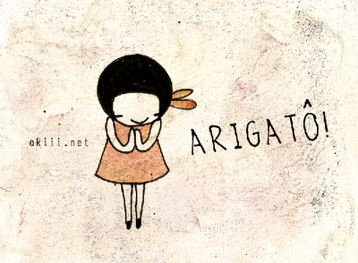 Arigato okiii