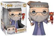 Dumbledore and Fawkes pop vinyl