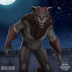 Fenrir Greyback Werewolf Form Hogwarts Mystery