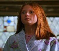 Ginny startled