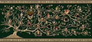 MinaLima Store - Black Family Tapestry