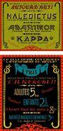 Circus Arcanus Show Banner - Box Office