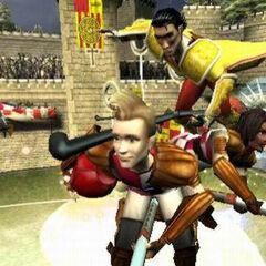 Английские охотники против игрока Сборной Испании