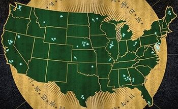 United States Of America Harry Potter Wiki FANDOM Powered By Wikia - Most recent magi map by us states