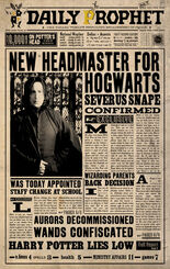 picture about Daily Prophet Printable known as Everyday Prophet Harry Potter Wiki FANDOM run via Wikia