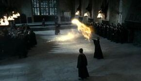 Duell mellom Minerva McSnurp og Severus Slur