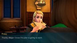 Penny mentioning Maya