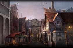 Diagon Alley Lato Sud