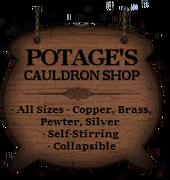 Potage's hoarding