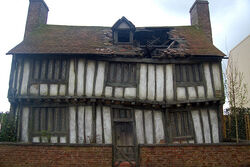 Potter house in Godric's Hollow