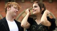 Rupert Grint + Emma Watson