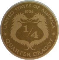 Драгот Четверть драгота Деньги волшебников США