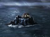 Chata na skale