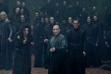 Voldemort in the forbidden forest