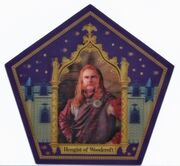 Chocolate Frog Card Hengist of Woodcroft