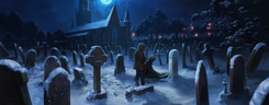 Godric's Hollow graveyard Pottermore