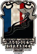 Le Ministère Des Affaires Magiques De La France Insignia