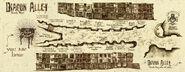 MinaLima Store - Map of Diagon Alley