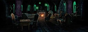 PM-Moment B2C12 SlytherinCommonRoomWithDracoMalfoy