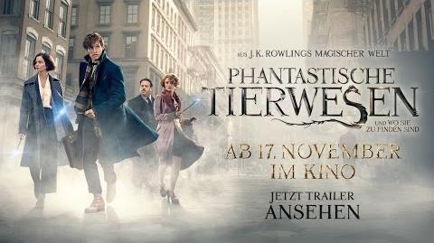 PHANTASTISCHE TIERWESEN UND WO SIE ZU FINDEN SIND - Trailer 6 Deutsch HD German (2016)