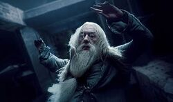 Dumbledore śmierć