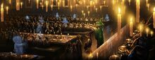 Pottermore background the sorting ceremony