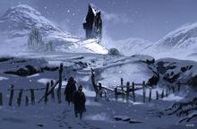 The Shrieking Shack (Concept Artwork for the HP3 movie 01)
