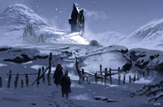 The Shrieking Shack (Concept Artwork for the HP3 movie 01)