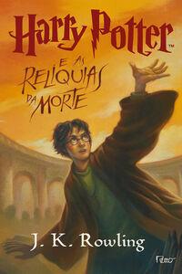 Capa Harry Potter e as Relíquias da Morte (livro)