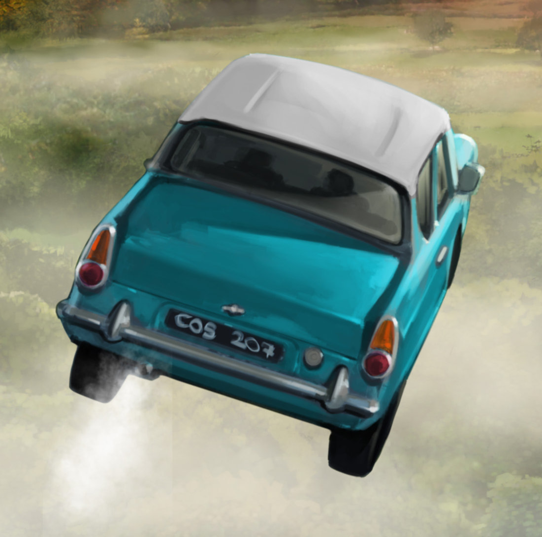 Flying Ford Anglia | Harry Potter Wiki | FANDOM powered by Wikia