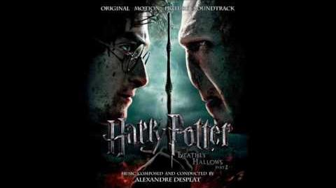 Harry Potter and the Deathly Hallows Part 2 OST 14 - Broomsticks And Fire