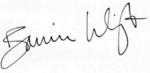 Bonnie wright autograph