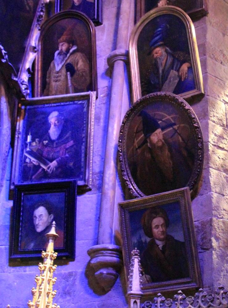 headmaster portraits harry potter wiki fandom powered