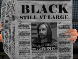 Black still at Large