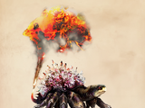 Caranguejo-de-fogo