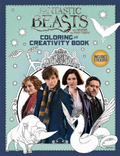 Fantastic Beasts and Where to Find Them Coloring and Creativity Book Обложка Раскраска и творчество