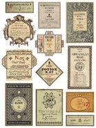MinaLima Store - Potion Labels