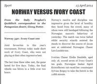 NorwayVersusIvoryCoast